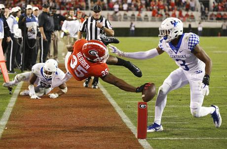 APTOPIX Kentucky Georgia Football