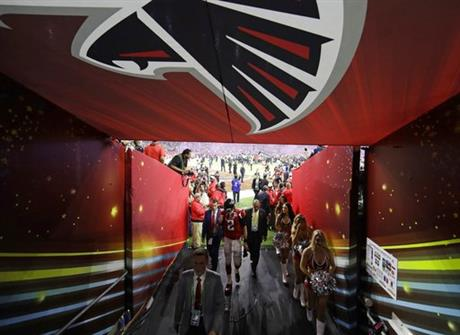 Falcons Moving On Football