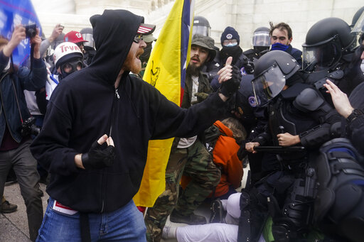 'THIS IS ME': Rioters flaunt involvement in Capitol sie...