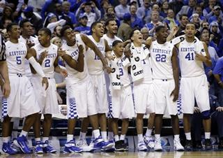 Kentucky Kansas Basketball