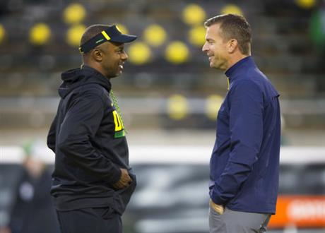 Willie Taggart, Justin Wilcox