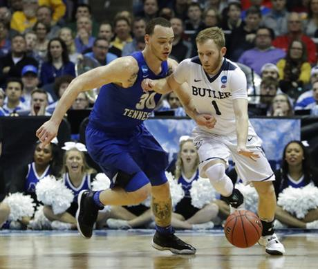 NCAA Middle Tennessee St Butler Basketball