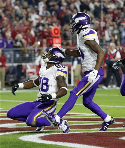 Adrian Peterson, Stefon Diggs