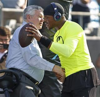 Cam Newton, Jerry Richardson