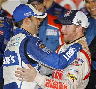 Dale Earnhardt Jr., Jimmie Johnson
