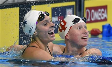Lilly King, Katie Meili