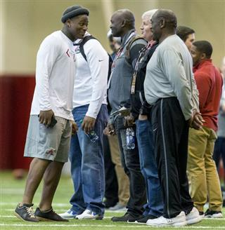 Alabama Pro Day Football