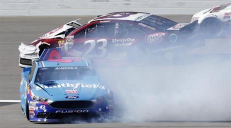 Aric Almirola, David Ragan