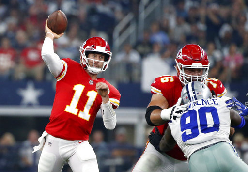 Laurent Duvernay-Tardif, Alex Smith, DeMarcus Lawrence