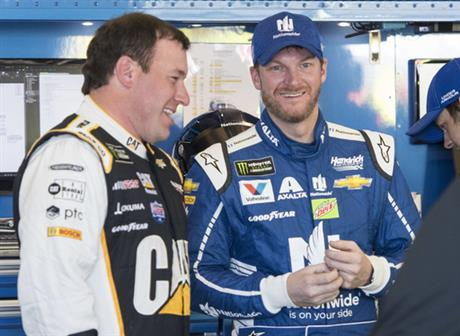 Dale Earnhardt Jr., Ryan Newman