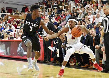 NCAA Basketball between Butler and St. John's