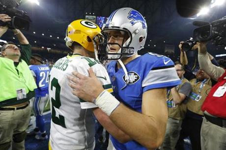 Aaron Rodgers, Matthew Stafford