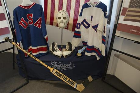 Miracle on Ice Jim Craig Auction Hockey