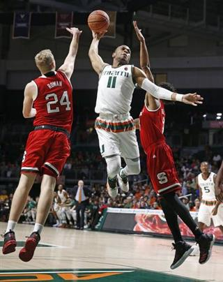 NC State Miami Basketball