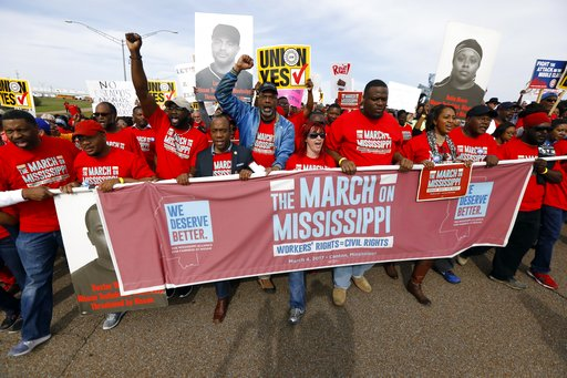 Former contract workers key in Mississippi Nissan union