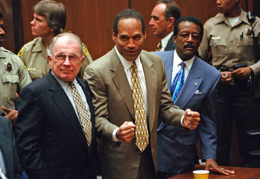 Key events in OJ Simpson's fall from sports hero, movie