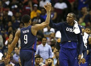 USA Nigeria Basketball Olympics