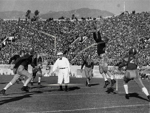1933 Rose Bowl USC vs Pitt | Buy Photos | AP Images | DetailView