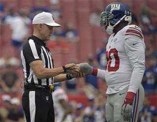 Clete Blakeman, Jason Pierre-Paul