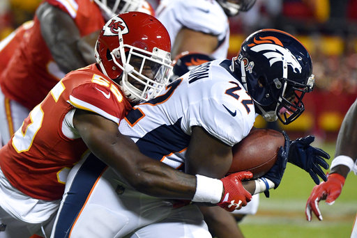 Dee Ford, C.J. Anderson