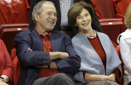 George W Bush, Laura Bush