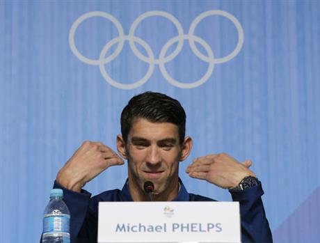 Rio Olympics Phelps Future Swimming