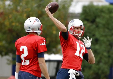 Brian Hoyer, Tom Brady