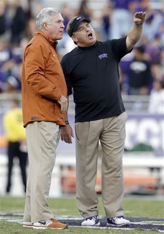 Gary Patterson,  Mack Brown