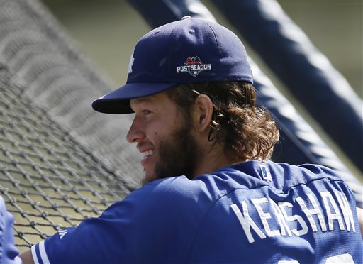 Dodgers pick ace Clayton Kershaw to start on 3 days' re