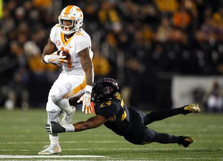 Tennessee Missouri Football