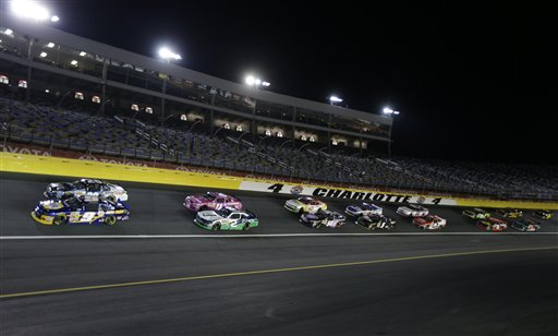 NASCAR Nationwide Charlotte Auto Racing