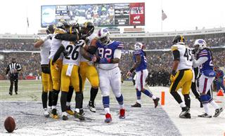 Steelers Bills Football
