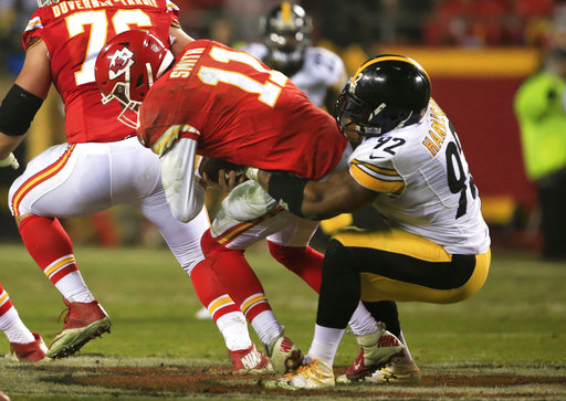 James Harrison, Alex Smith