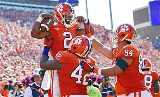 Kelly Bryant, Christian Wilkins, Cannon Smith