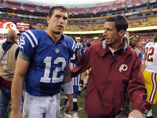 Andrew Luck, Kyle Shanahan
