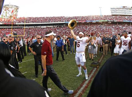 Baker Mayfield;Lincoln Riley