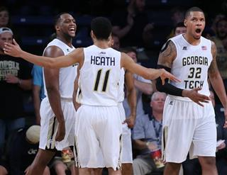 VCU Georgia Tech Basketball