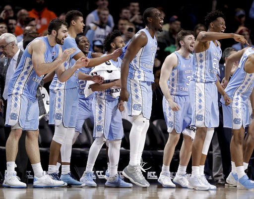 38f431873aa4 North Carolina beats Miami 82-65 and gets Duke next at ...