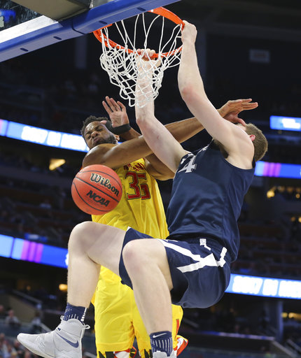 NCAA Xavier Maryland Basketball