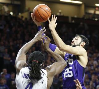 TCU Kansas St Basketball