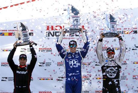 Will Power, Josef Newgarden, Graham Rahal