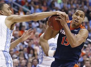 APTOPIX ACC Virginia North Carolina Basketball