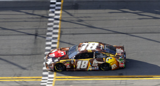 The Latest: Daytona 500 turns into wreck-fest in final