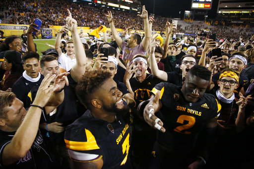 Washington Arizona St Football