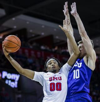 TCU SMU Basketball