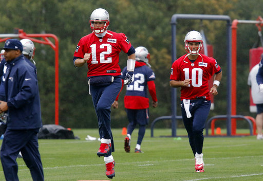 Tom Brady, Jimmy Garoppolo