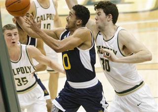 UCI Cal Poly Basketball