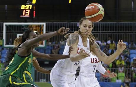 Brittney Griner, Mame Marie Sy