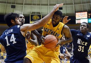 Rice Southern Mississippi Basketball