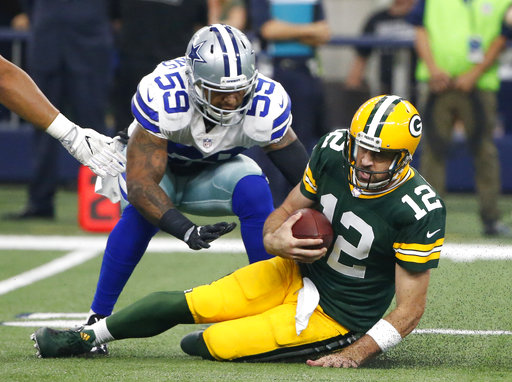 Aaron Rodgers, Anthony Hitchens